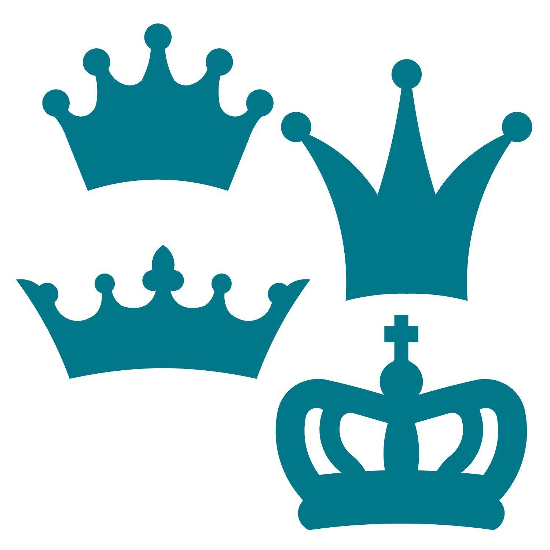 Stencil King Crown: Crown Template, Crown Pattern, Crown Stencil