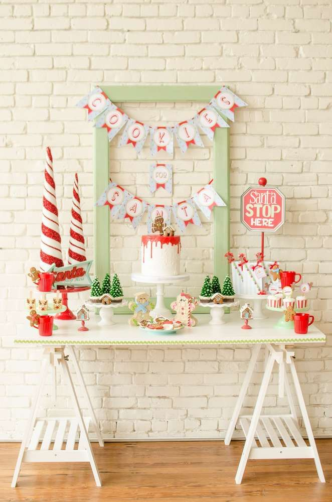 Cookie decorating Party Christmas/Holiday Party Ideas Cookie