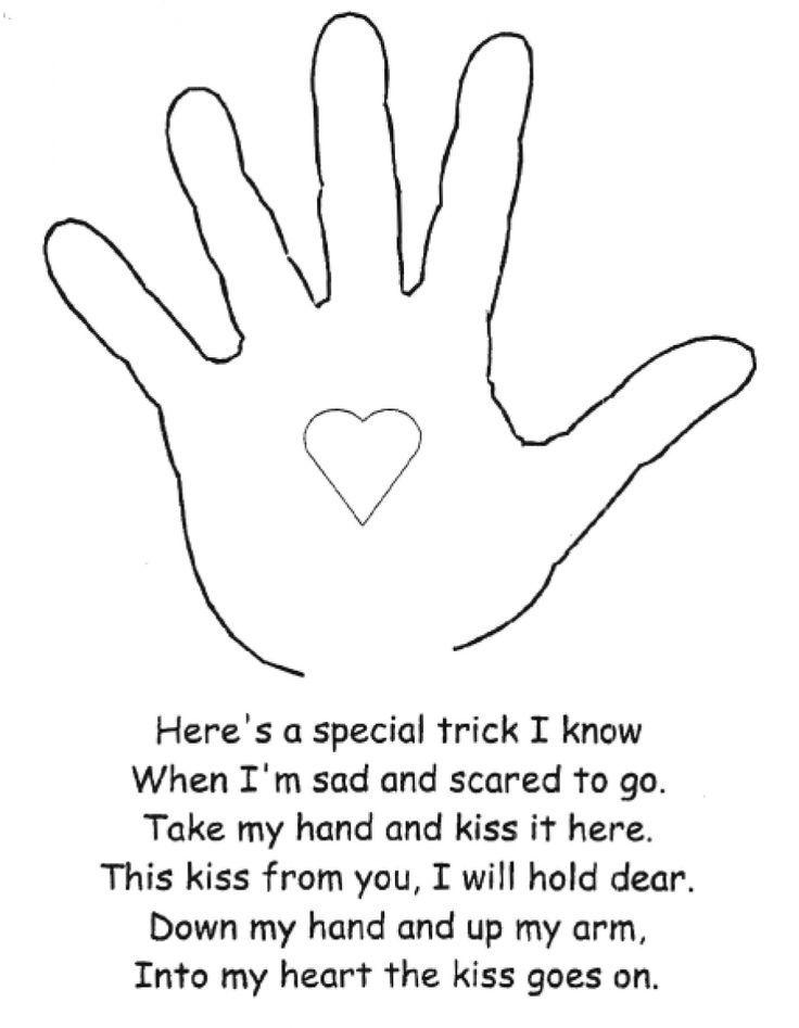 Resultado de imagen de the kissing hand activities | Babs ...