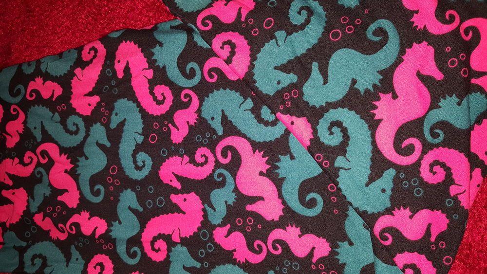 b14ed99becaa77 Lularoe Leggings - Seahorses* - TC, Tall & Curvy, Black, Blue and Pink |  Clothing, Shoes & Accessories, Women's Clothing, Leggings | eBay!