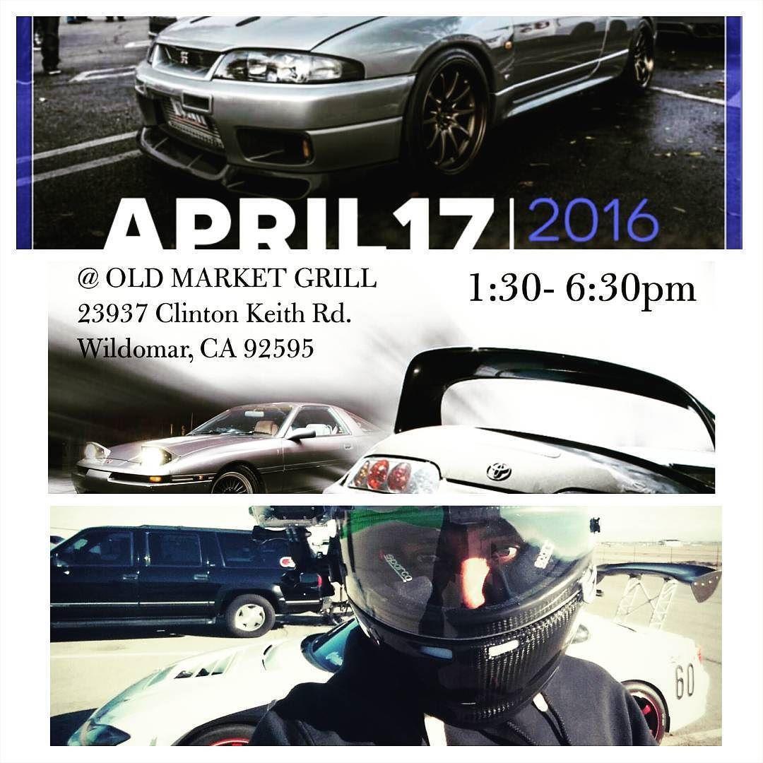 Events for this Sunday: 1)Supra meet @ The Old Market Grill in Wildomar  CA 92595 2)Socal Season Opener @ Santa Anita Park  Arcadia CA 91007 3)Balcony Drift Clinic @ Willow springs.  LET'S GO!  #drifting #3dprinting #stancenation #willowsprings #losangeles #California #meetup #carshow #dynoday #carporn #ficinjectors #precisionturbo #2jz #rb26 #vr38dett  #suprameet #gtrs #haltechecu #dynojet by originalauto