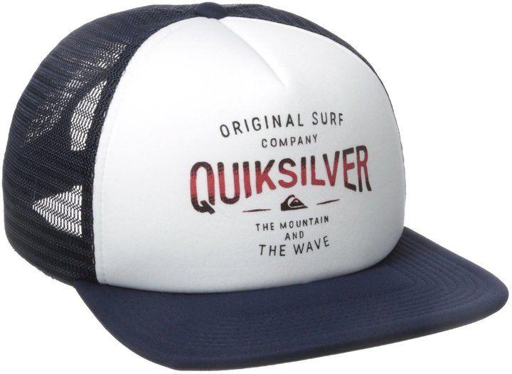 8f7af8abe27 Quiksilver Men s Sanders Trucker Hat