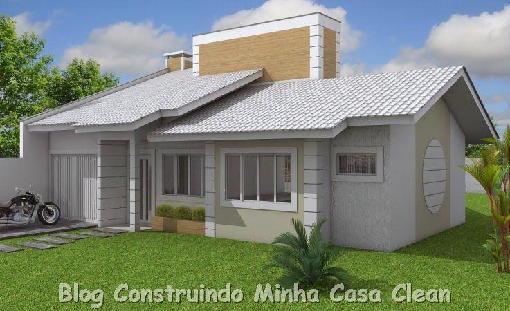 20 fachadas de casas pequenas e super modernas - Casas super pequenas ...