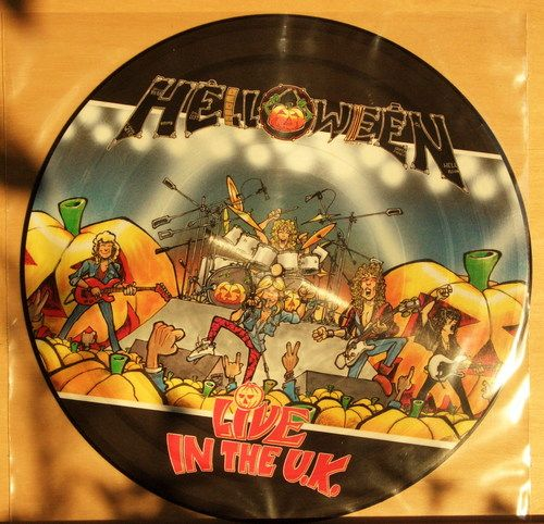 HELLOWEEN - Live in the U.K. - Limited Picture Disc - Vinyl LP - near mint - OIS