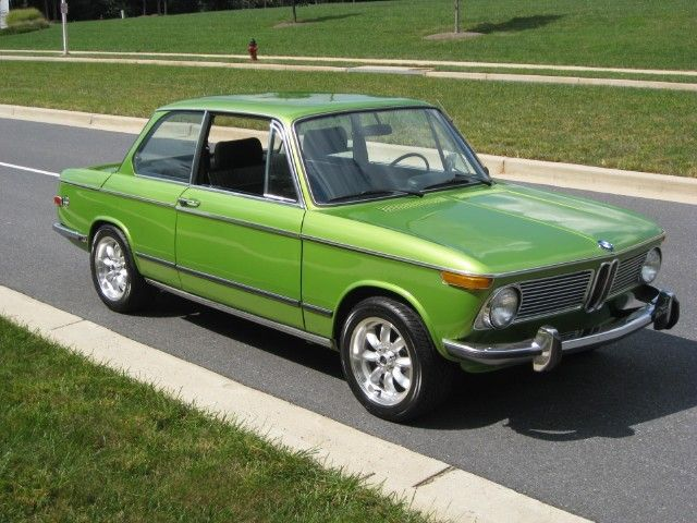 In Tiagra Pearl Green Not So Sure About That One Bmw 2002 Tii Bmw 2002 Bmw