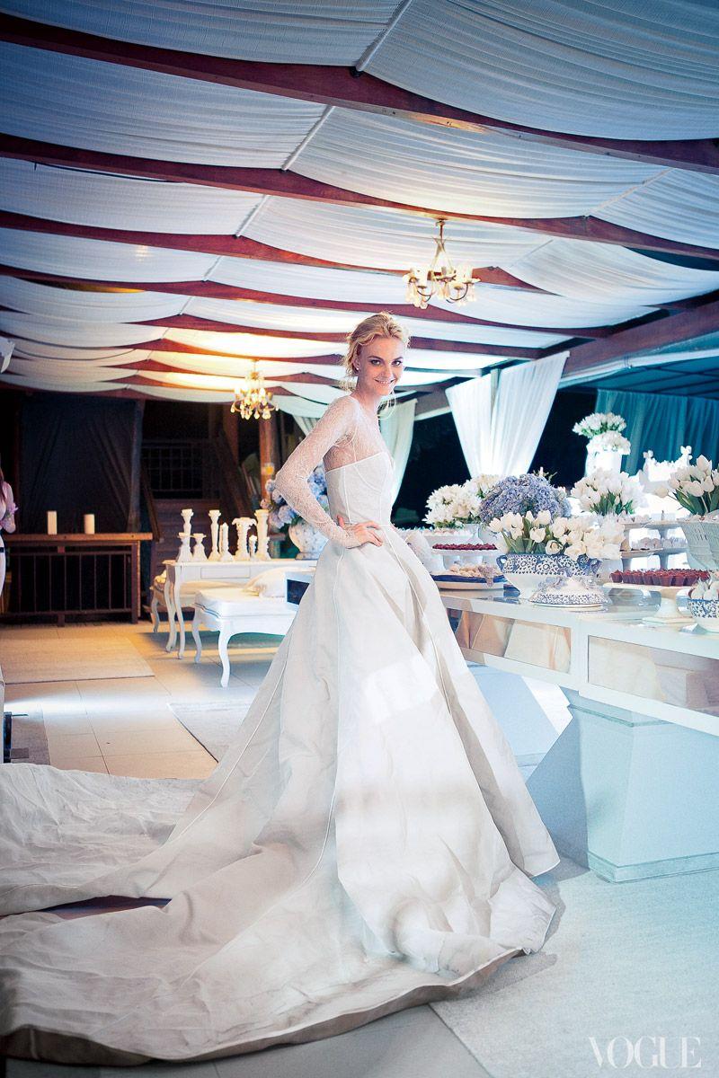 It Girl: Caroline Trentini on Her Wedding Day | Pinterest | Brazil ...