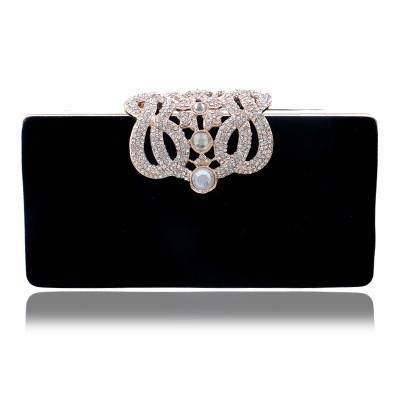 01bc242d1c Clutch Crown rhinestones evening bags purse shoulder bag Diamonds Lady Purse  Mini Evening Bags