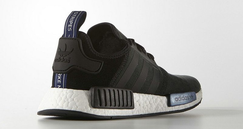 newest 3c4ce 09ccb ... ireland adidas nmd runner black dark blue white b5ef7 d860c
