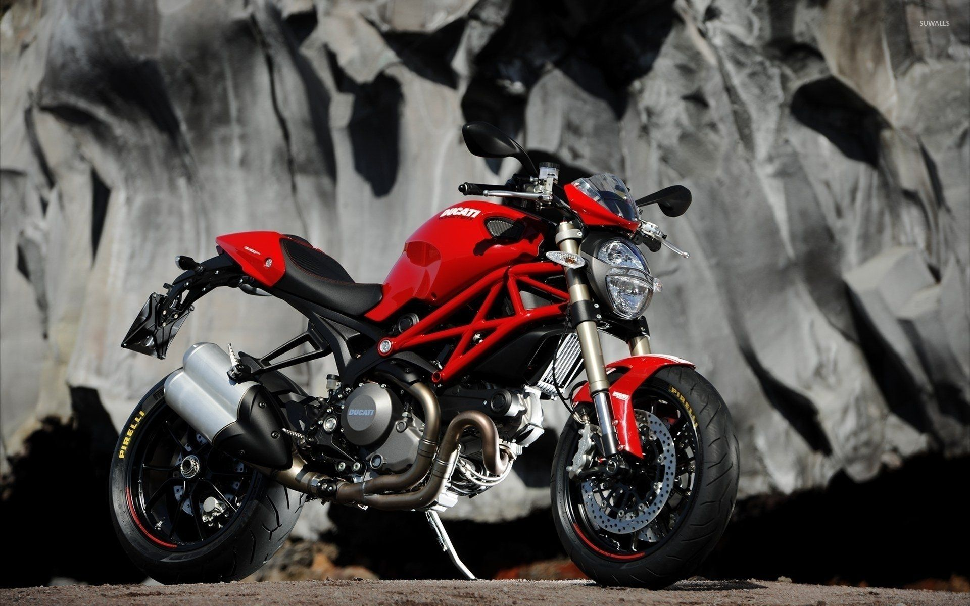 Ducati Monster HD Wallpaper From