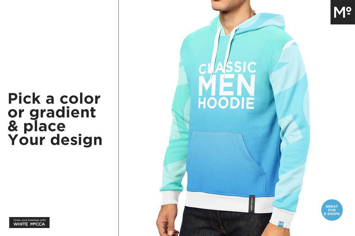 Download Men Hoodie Raglan Classic Mock Up Hoodies Men Hoodies Types Of Lace
