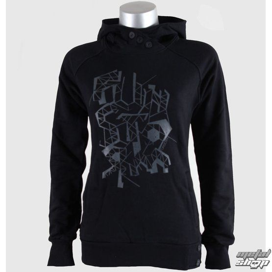 hoodie women\'s FUNSTORM - Ayra - 21 Black - metal-shop.eu ...