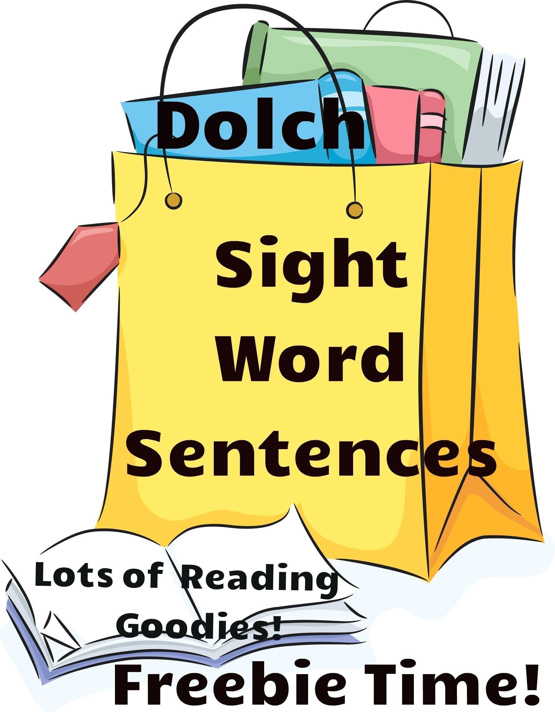 Kindergarten Sight Word Sentences Worksheets In