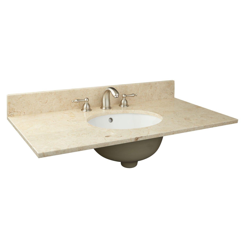 37 X 19 Bathroom Vanity Tops