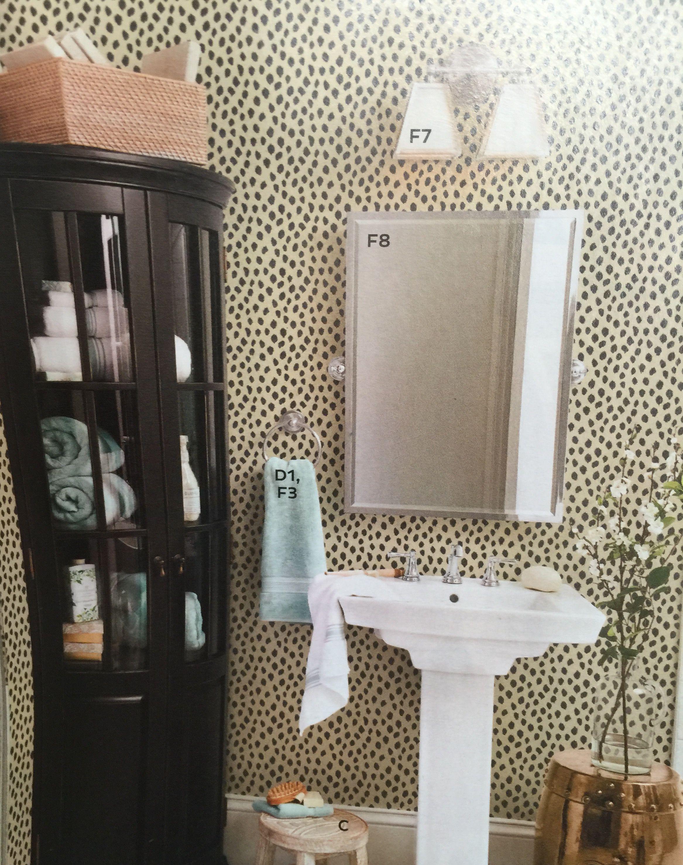 "Ballard Designs Wallpaper love this ""dodie"" wallpaper - ballard designs   enchante' le bain"