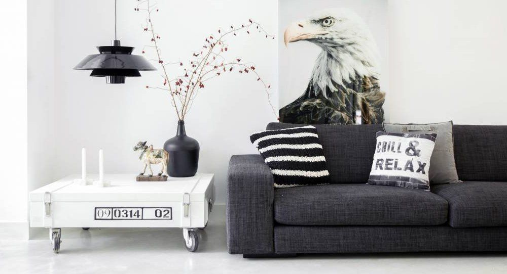 noir blanc accessoires design meubles recup hk living home design