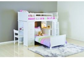 Kids Bunk Beds Loft Beds Super Amart Loft Bunk Beds Bunk
