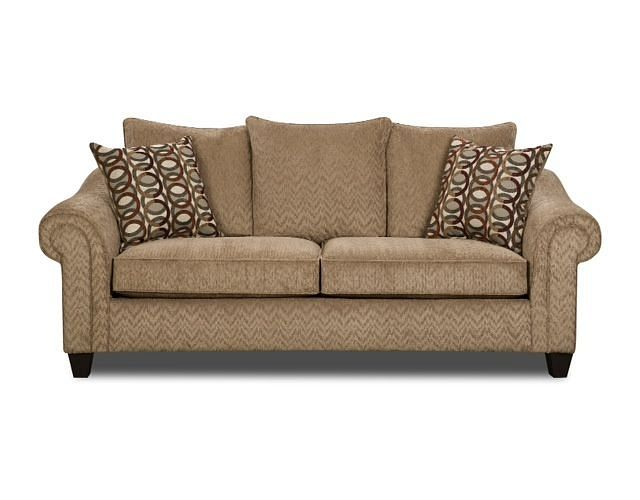 Designer Inspired Sofa With Throw Pillows Ffo Home Bestsellers