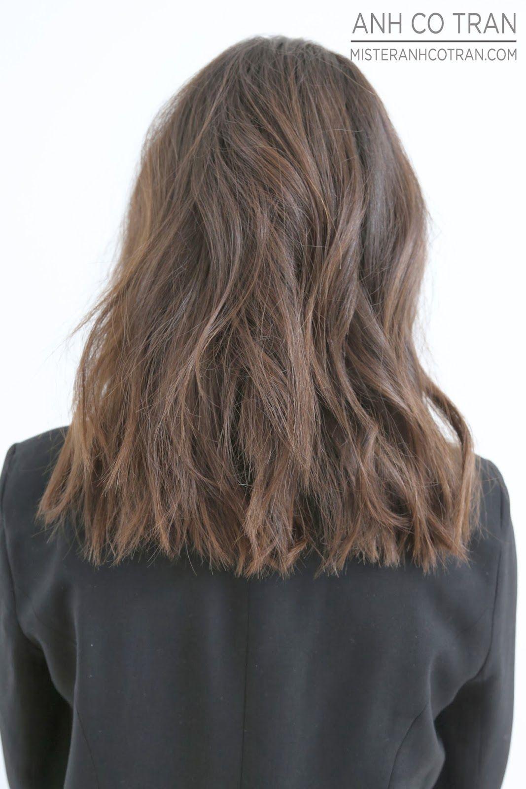 LA: A LOVELY CUT AT RAMIREZ|TRAN. Cut/Style: Anh Co Tran. #model #besthair #beauty #hair #brunette #anhcotran #ramireztransalon #beverlyhills