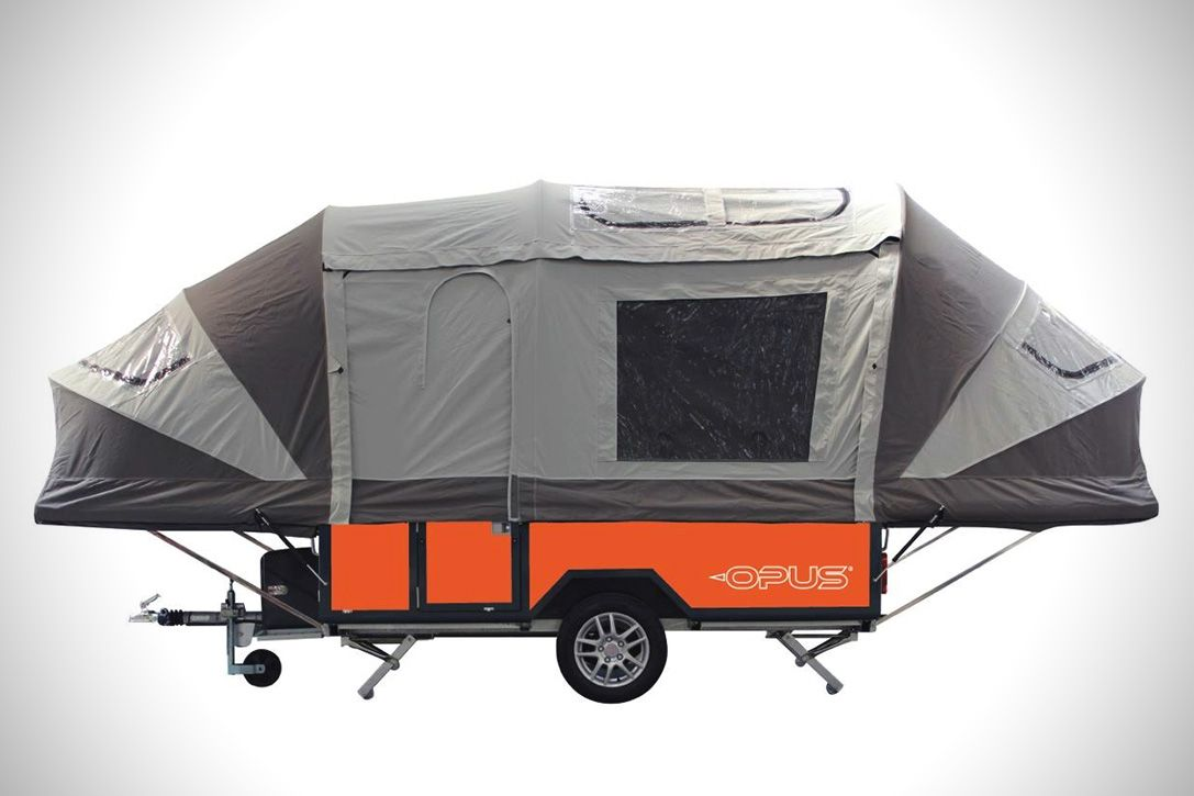 Air OPUS Inflating Camper Trailer | HiConsumption ...