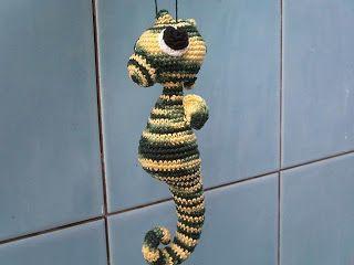 Amigurumis Caballitos A Crochet : Caballito de mar amigurumi patrón gratis en español aquí