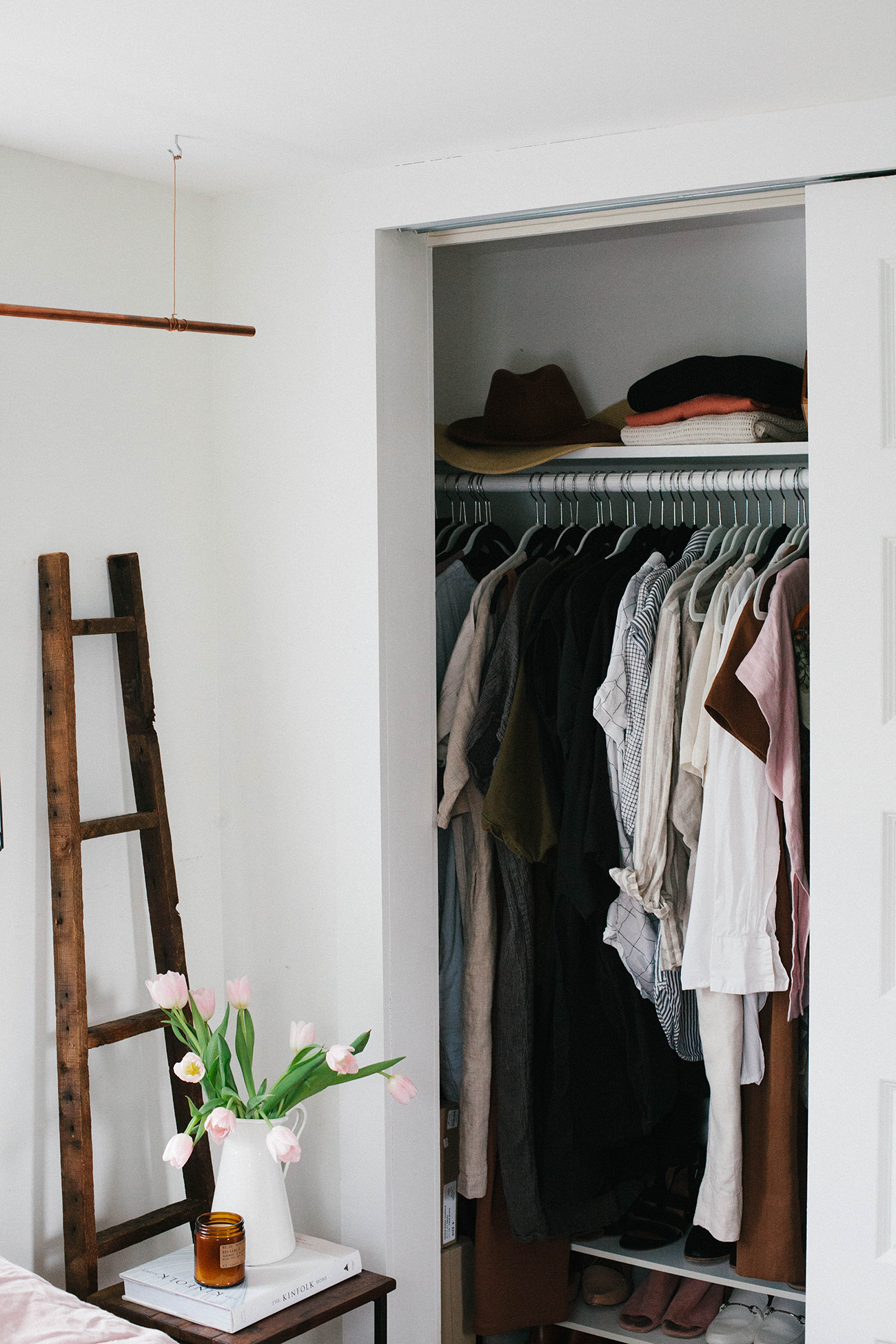 Style Wardrobe Tiny House Inspiration Closet Clutter