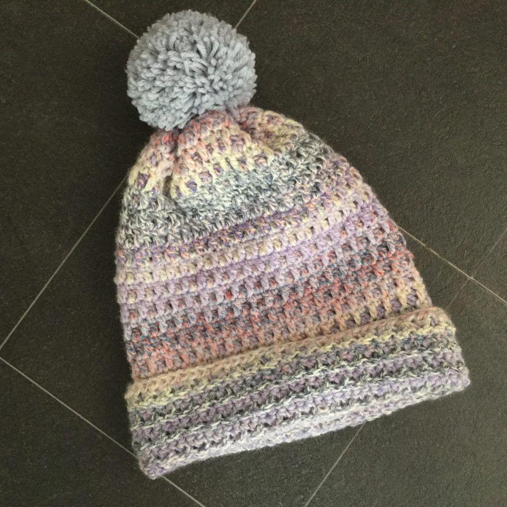 Crochet Bobble Slouch Hat, Bobble Hat | Knitted hats ...