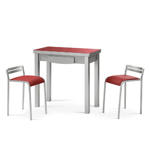 Mesa cocina lorena Roja | We love Red at home | Mesas de ...