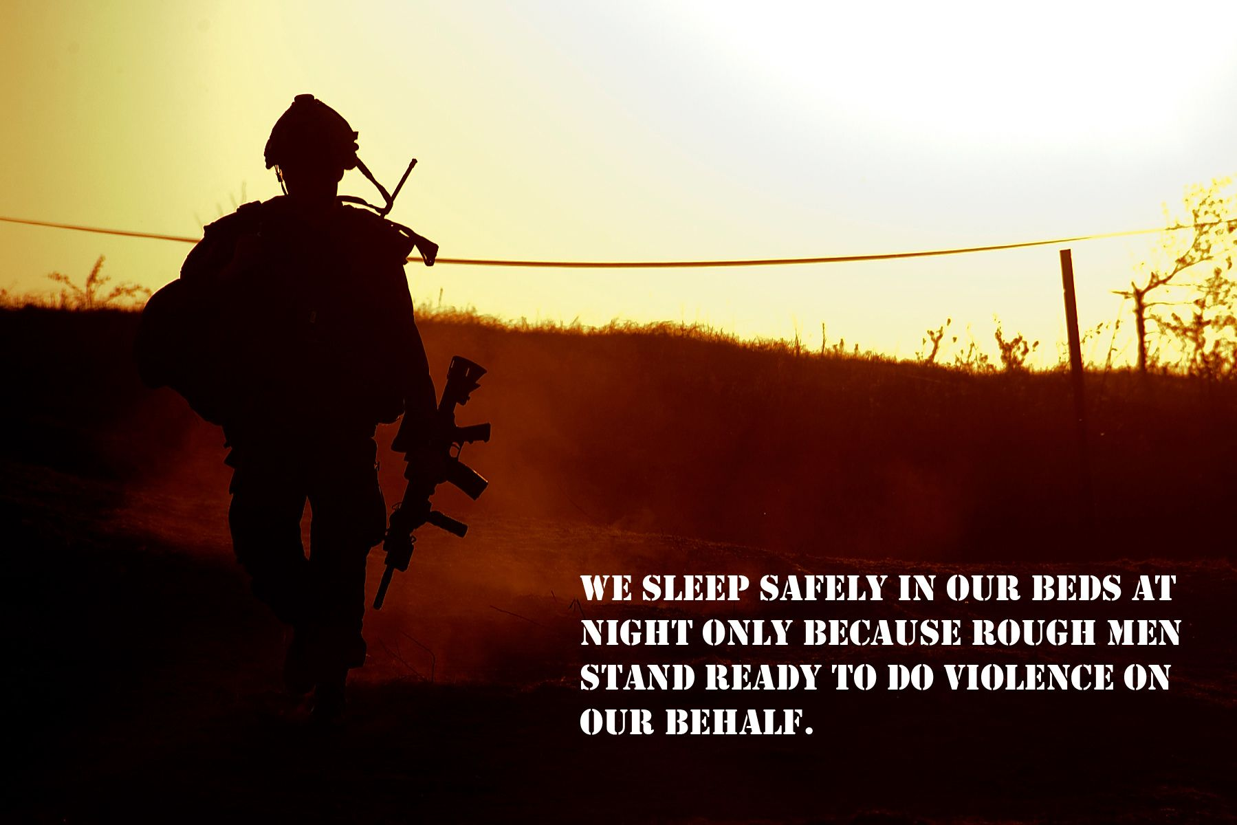 Military Soldier Statement Quote Wallpaper  Military quotes