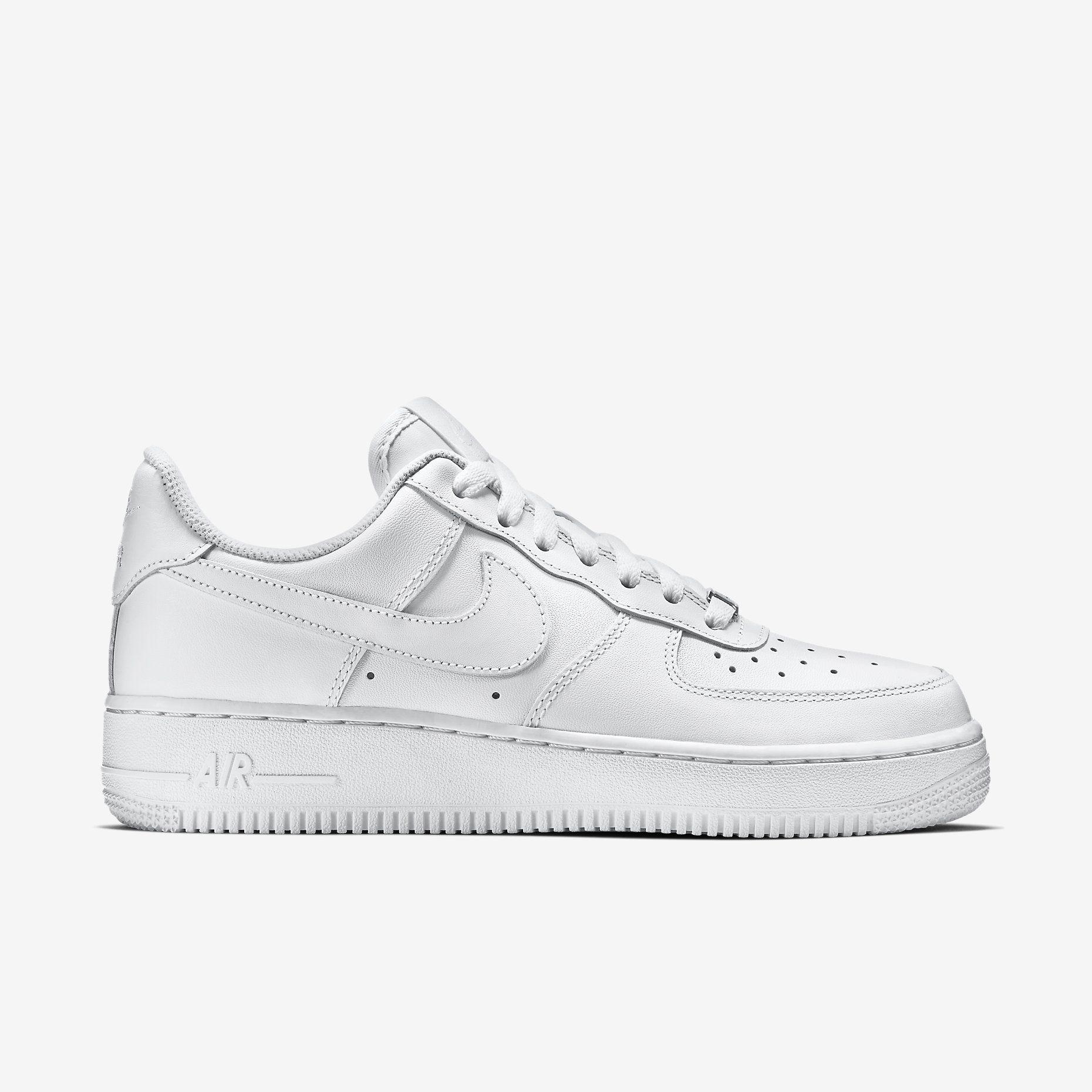 nike air force 1 07 mujer blancas