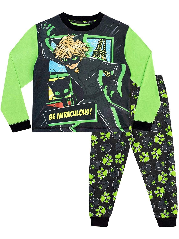 Miraculous Boys Cat Noir Pajamas