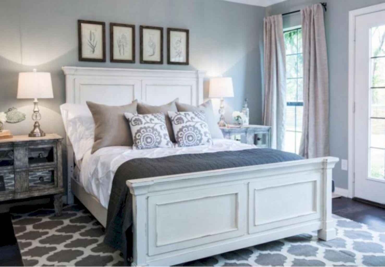 Master bedroom gray walls   Beautiful Master Bedroom Decorating Ideas  Beautiful master