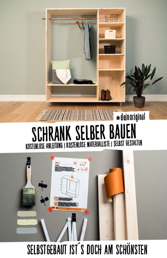 Flurmöbel Lisa selber bauen - Alle Möbel in 2020 | Schrank