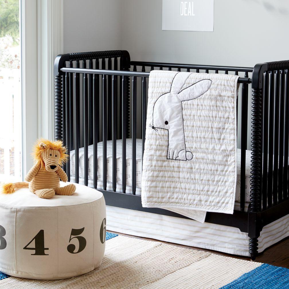 Jenny Lind Baby Crib (Black) The Land of Nod Crib