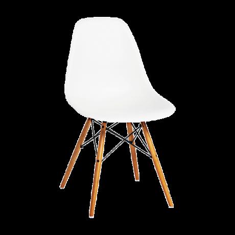 Chaise Eames DSW blanche Vitra | JM Mobilier | Pinterest
