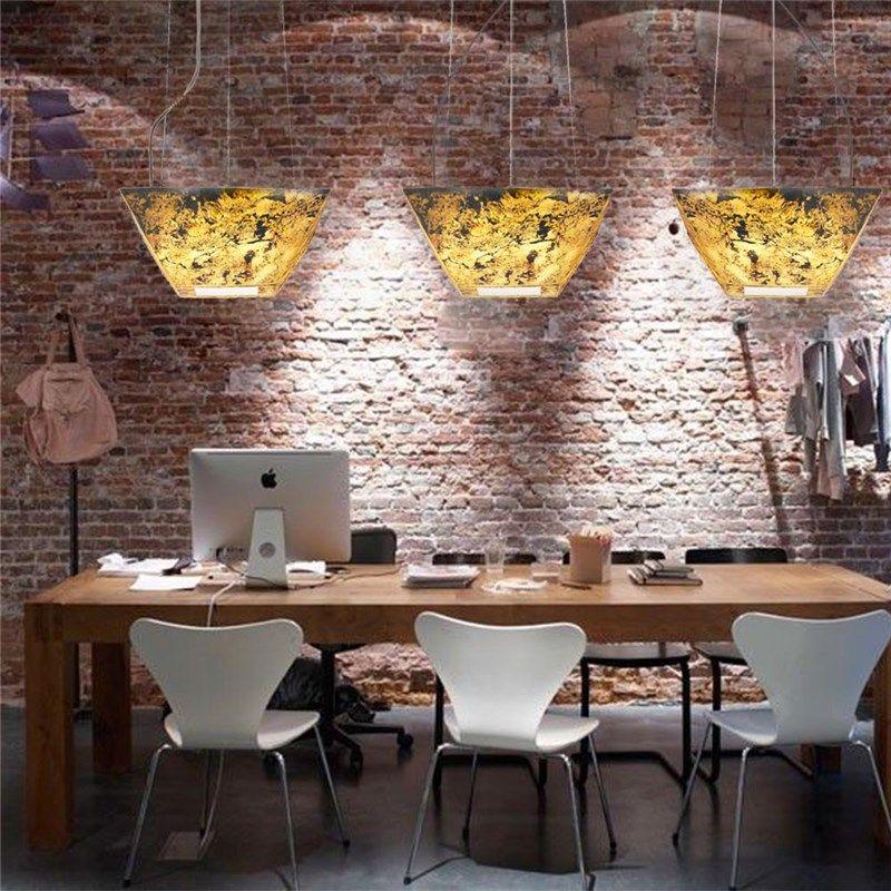 Suspension Moderne En Roche Acyclique Design Translucide Effet 3d