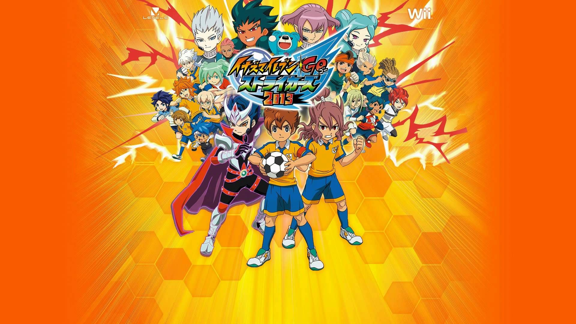 Inazuma Eleven Go Strikers 2013 Ost Beta S Theme Anime Images Eleventh Ost