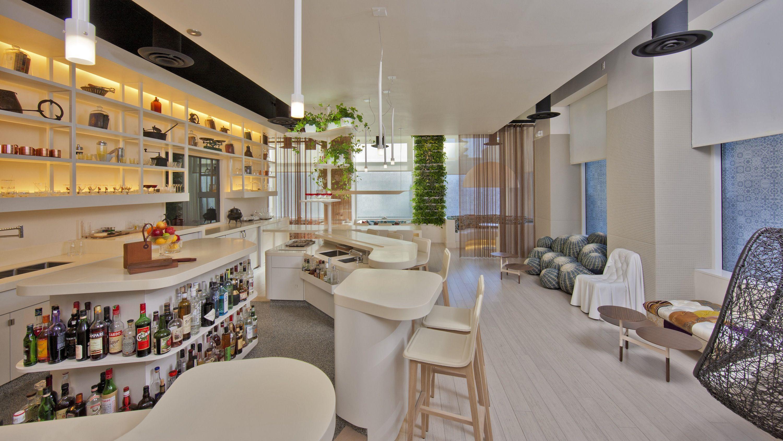 Inside Barmini Jose Andress Cocktail Lab Next To Minibar