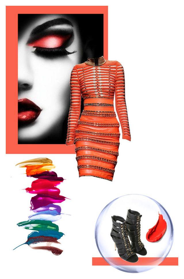 """""""Mini-Dress"""" by fl4u ❤ liked on Polyvore featuring Balmain, minidress and contestentry"""