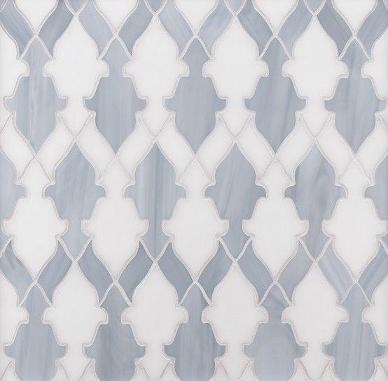 Ann Sacks Mosaic Bathroom Tile: ANN SACKS Chrysalis Bombay Glass Mosaic In Light Smoke And