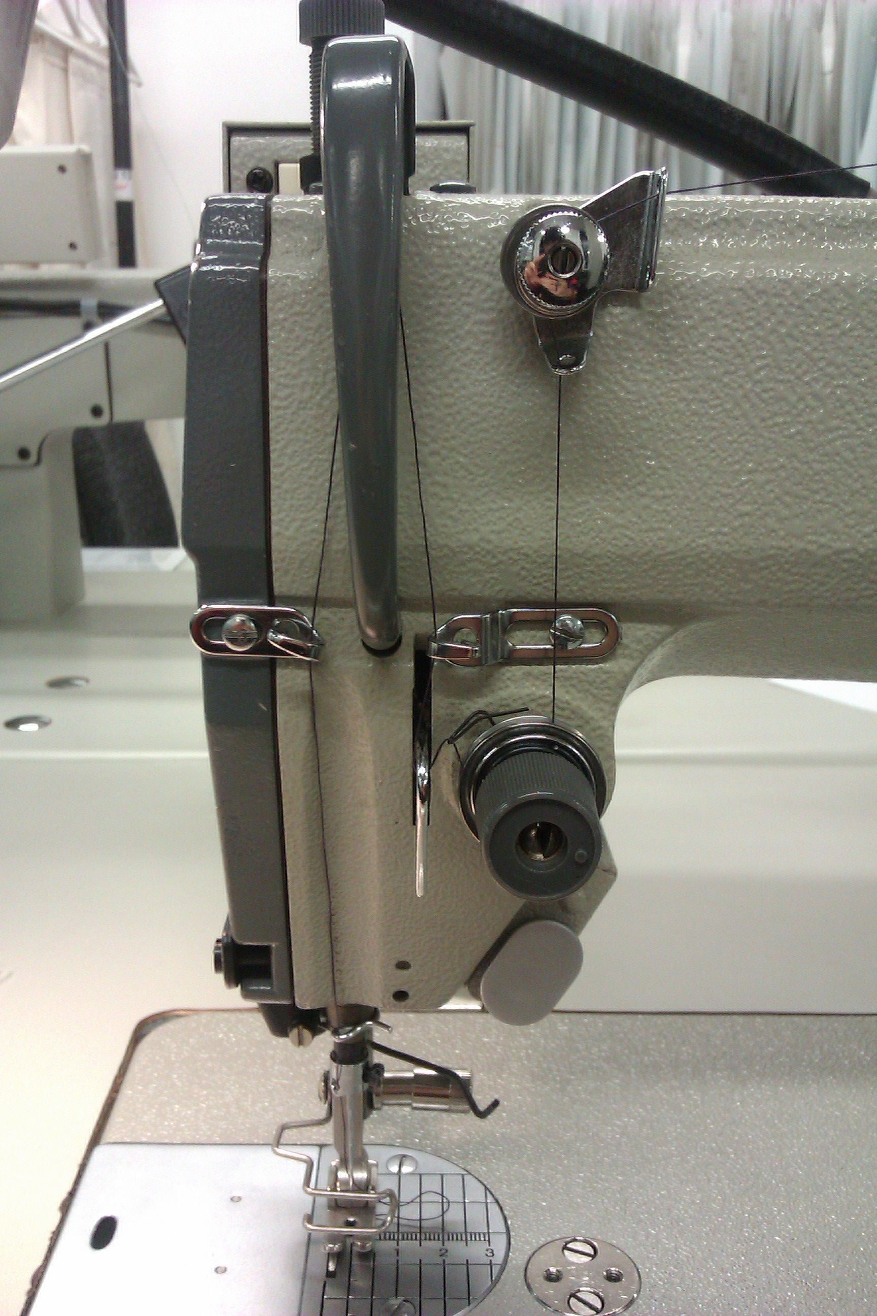 Learning How To Thread An Industrial Sewing Machine Industrial