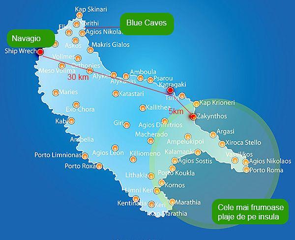 Tsilivi Zakynthos Ghid Turistic Grecia Reizen Griekenland