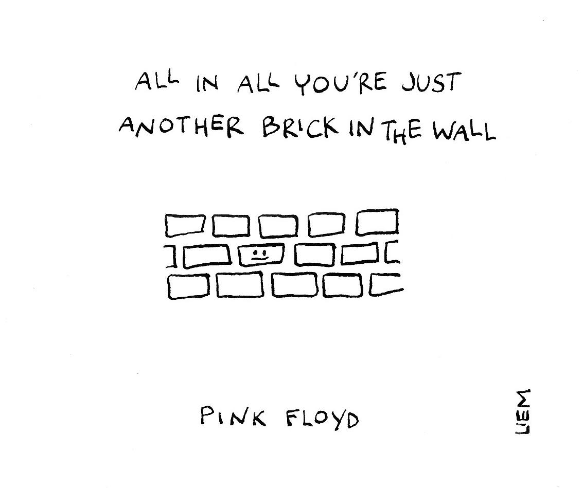 Another Brick in the Wall Lyrics Part 2 - The Wall Lyrics ...