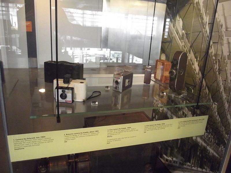 We Made It - Thinktank Birmingham Science Museum - old cameras