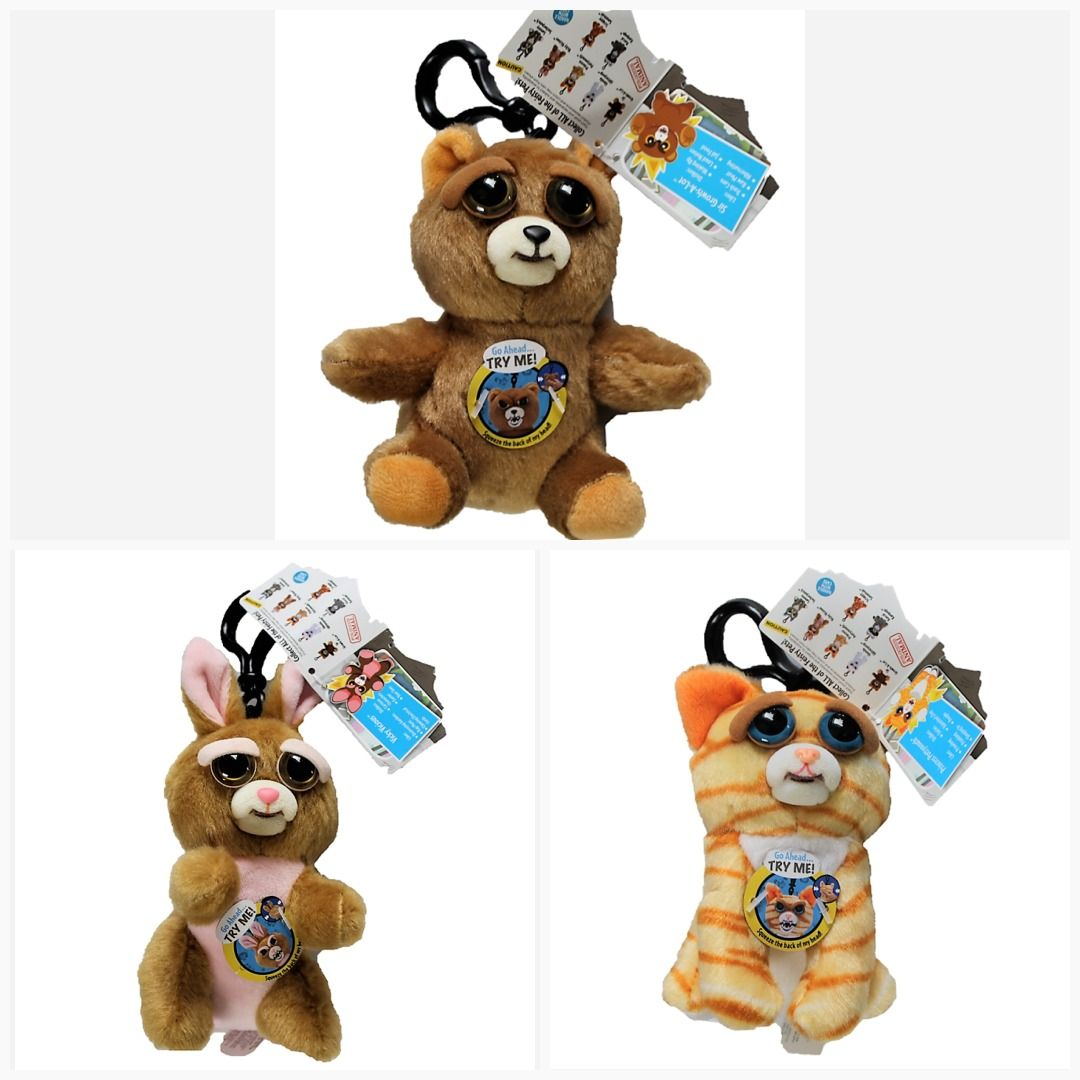 Feisty Pets Feature 4 5 Inch Plush Clip Choose Your Favorite Marvel Funko Toys Transformers Avengers Toy Starwars Toyshnip Hasbro Pets Plush Feisty
