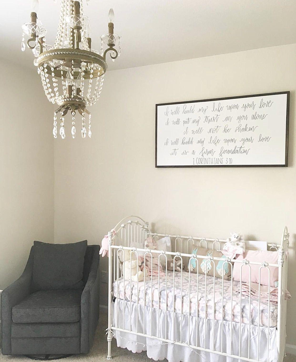 Crib Nursery Glam Nursery Chandelier Baby Cribs Nursery Room