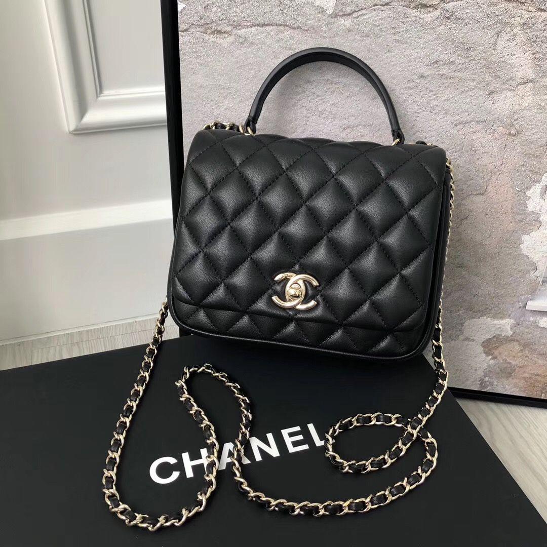 c6d92f2b658a Chanel Citizen Chic Mini Flap in Black Lambskin | Luxury Bags in ...