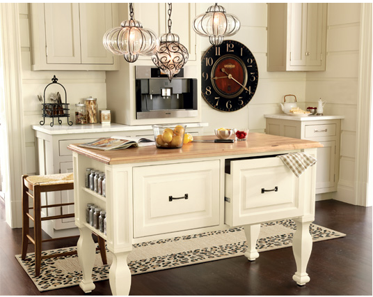 I Like The Idea Of Using A Sideboard But D Still Want An Overly Large Butcher Block Top So Two Or Three Stools Can Fit Underneath And Out Way