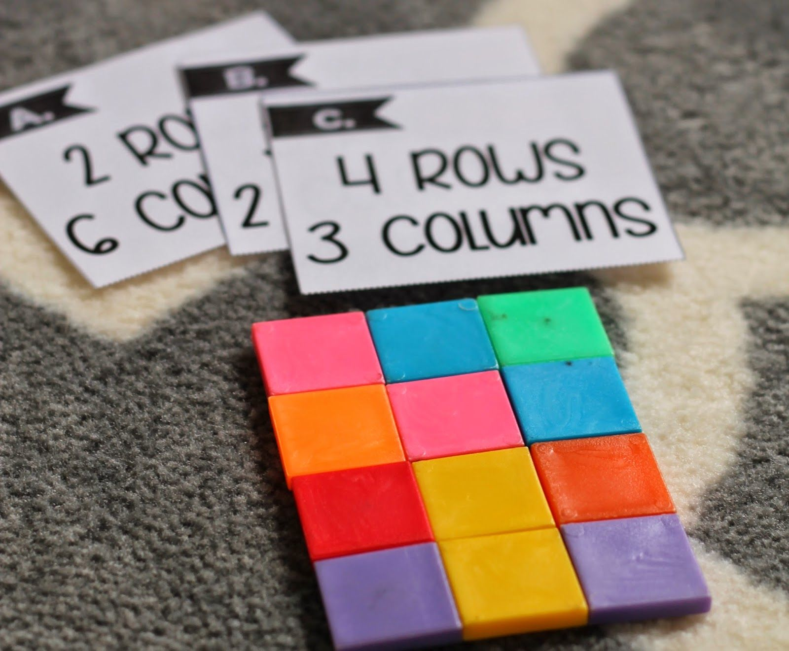 Array Unit To Build Multiplication Skills Soaring Through