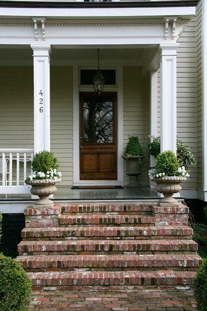 Brick Steps To Front Door Brick Steps Front Doors And Bricks