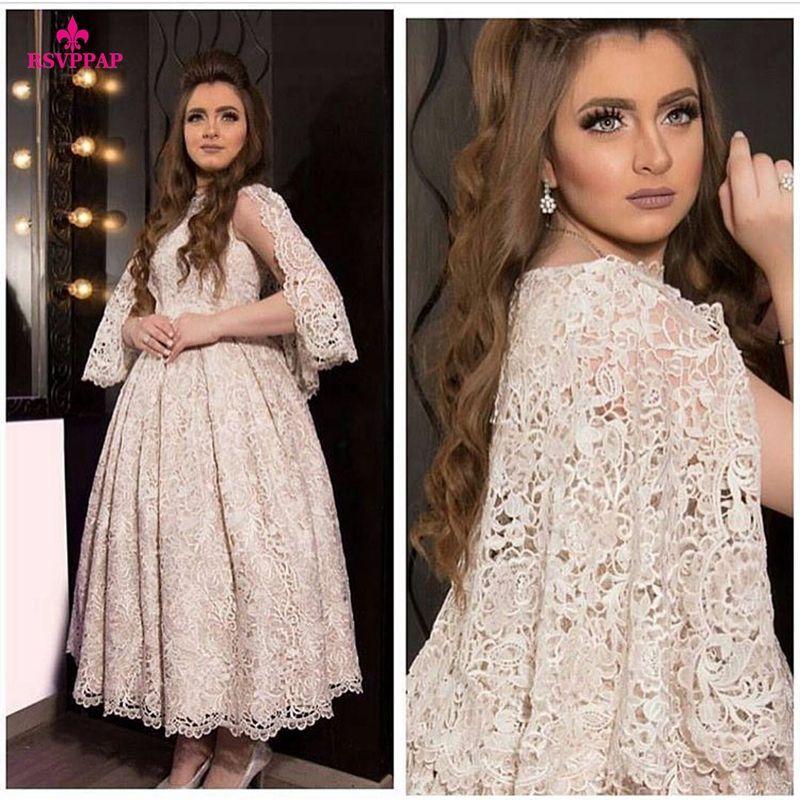Lange Abendkleid 2016 A-line Sleeveless Dubai Oman Spitze Frauen ...